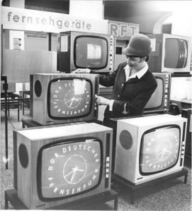 Leipzig, Messe, RFT-Sortiment, Fernseher
