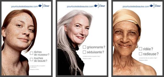 Publicité Dove