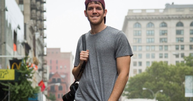 Portrait de Brandon Stanton