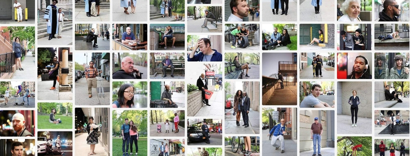 "Série de photo-portraits de réalisées par Brandon Stanton pour ""Humans of New York"""