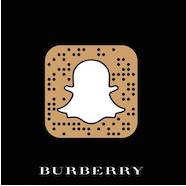 burberra digital snapchat