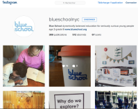 Instagram Blue School NYC