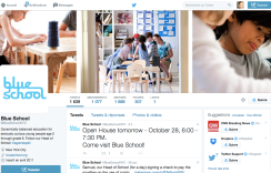 Twitter Blue School NYC