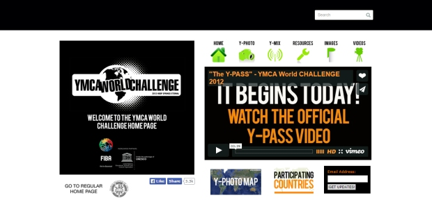 YMCA World Challenge - Lien sur le site Web