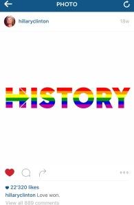 Instagram HILLARYCLINTON