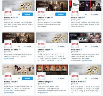 Netflix sur Twitter