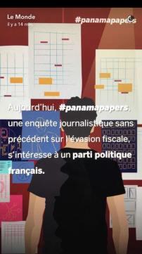 Compte Snapchat lemonde.fr