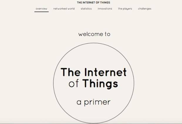 Objets connectés IoT