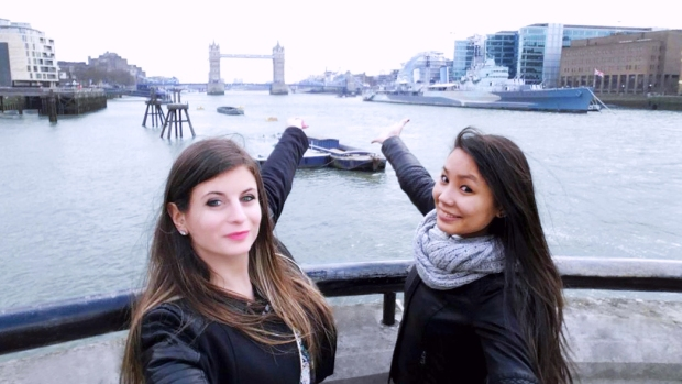 Selfie Londres 2015