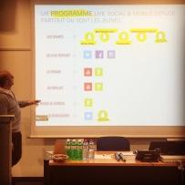 Un programme live, social et mobile