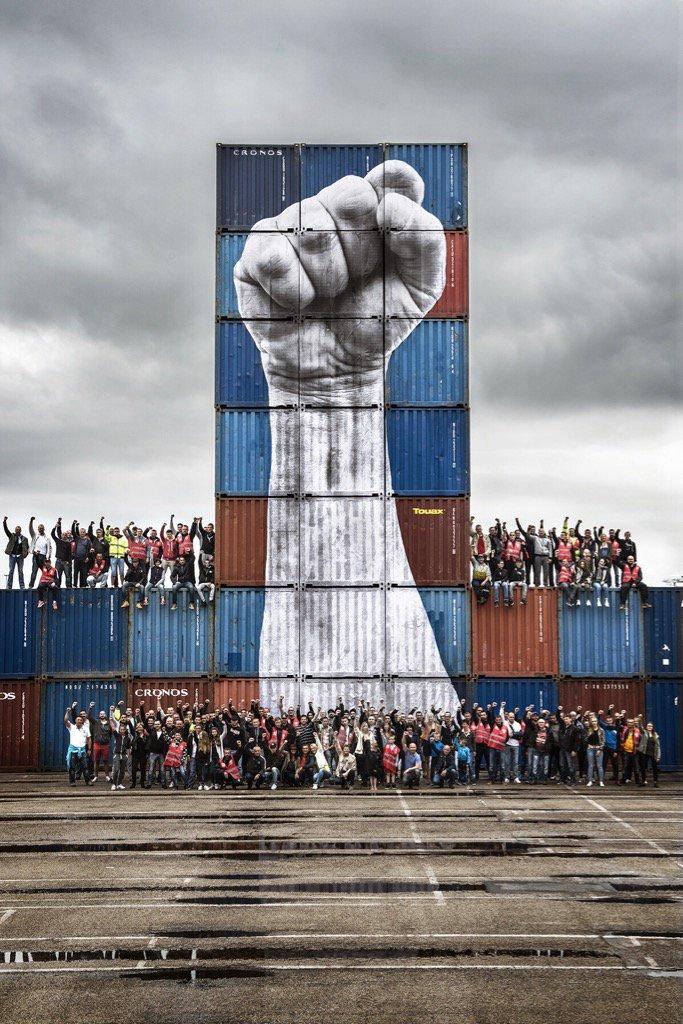 Les dockers en grève par HR
