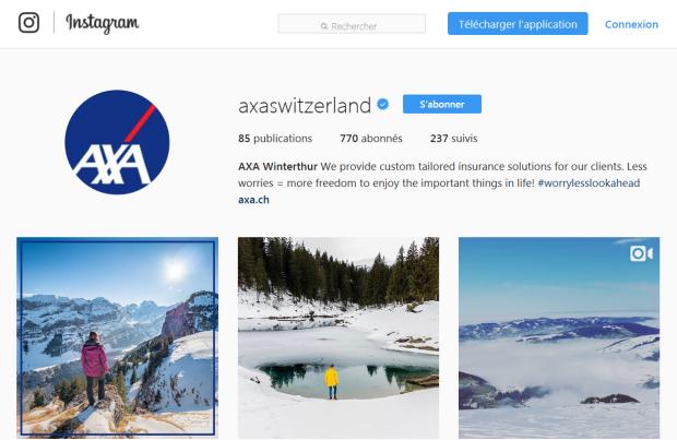 Axa Instagram