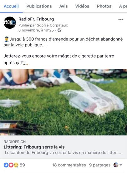 FB Littering