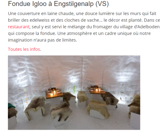 Photo igloo